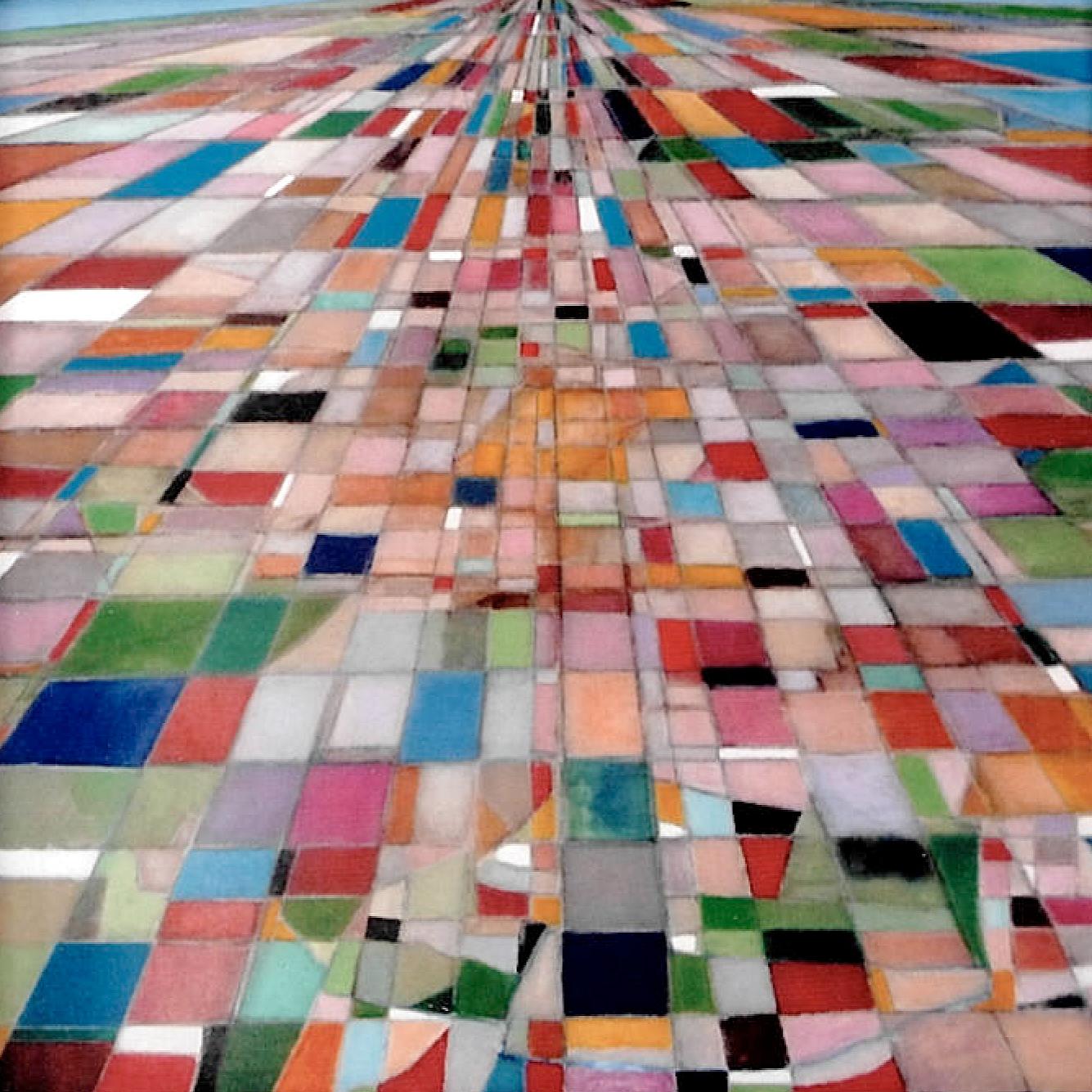 L'approche - Acrylique sur toile - 100x100 cm