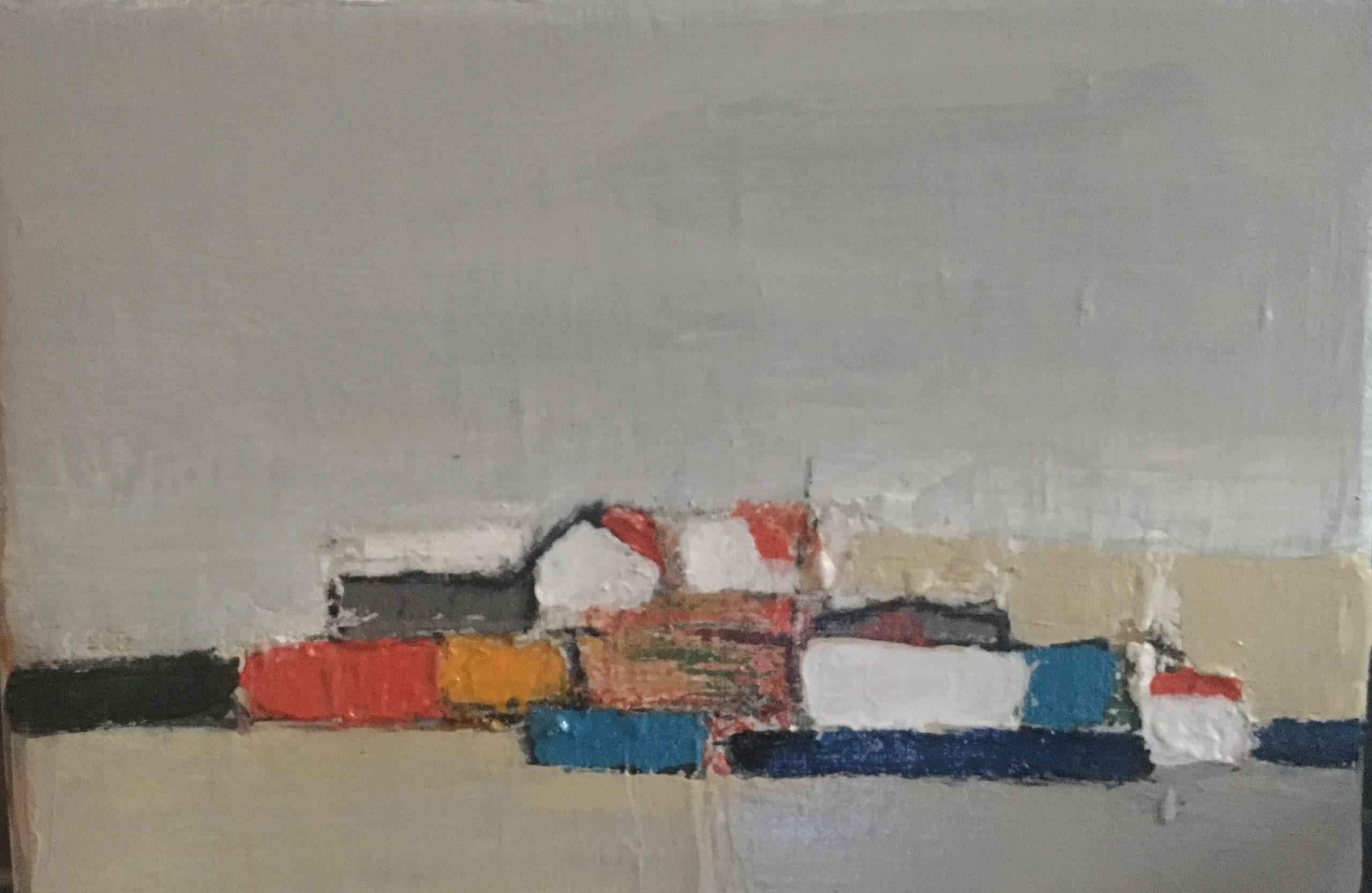 Composition - Acrylique sur toile - 21x16cm