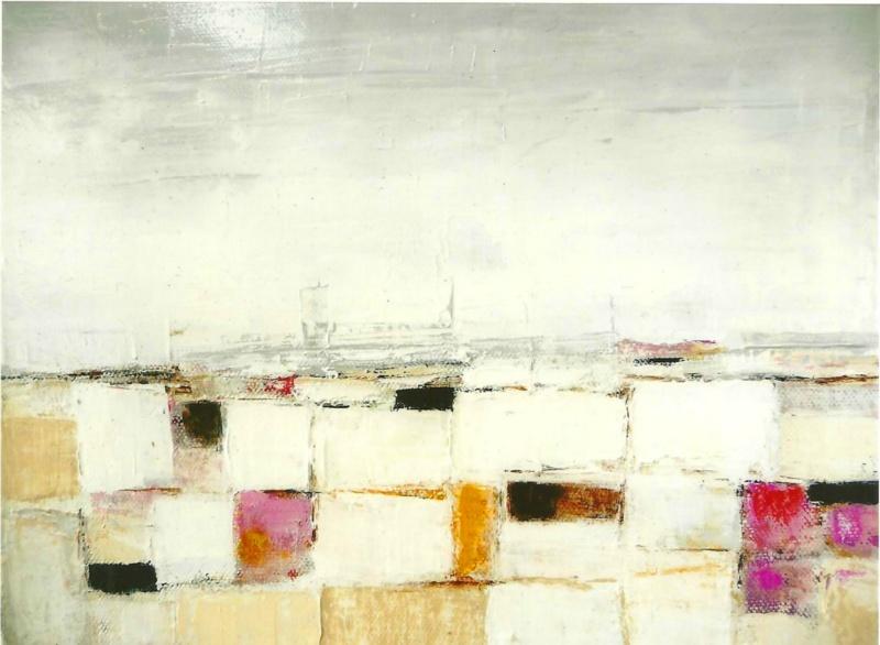 Composition - Acrylique sur toile - 30x24 cm