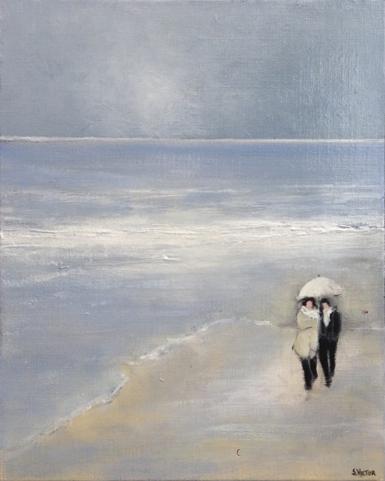 Cabourg - Acrylique sur toile
